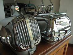 old La Marzocco machines