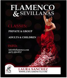Flamenco Workshops in #Boston, Massachusetts with Laura Sánchez