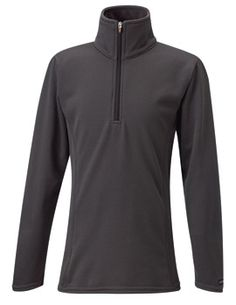 Wrap your little equestrian in this half-zip that is as soft as the nose of their favorite pony! Durable and fashionable, this half-zip is great for layering and also comes in Lagoon and Cognac.  http://www.tackroominc.com/kerrits-kids-check-fleece-half-zip-mercury-p-17368.html