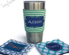 Starbucks Inspired Personalized Yeti Tumbler with by LeslisDesigns