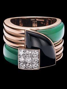 Ralph Lauren Modern Art Deco Ring LOVE LOVE LOVE