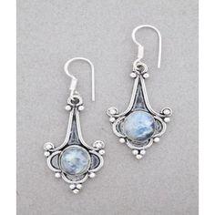 MyMela Moonstone Earrings