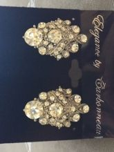 Vintage Inspired Bridal Earrings | Ruffled