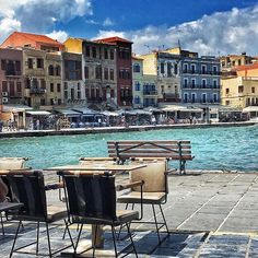 Chania, Crete, Greece ....Άλλη μια Κυριακή που δεν είμαστε στα Χανιά ....    #chania #crete #greece
