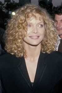 Michelle Pfeiffer with a great 80s perm