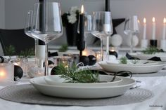 - Winter Christmas, Christmas Time, Xmas, Christmas Decorations, Table Decorations, Minimal Chic, Bon Appetit, Tablescapes, Sweet Home