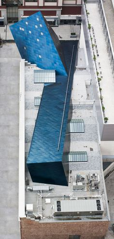 Contemporary Jewish Museum - Daniel Libeskind - some people think of everything!