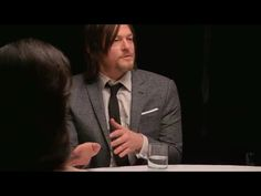 Reedus is such a hand talker :)