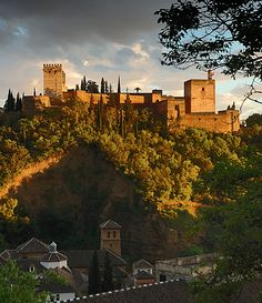 Beautiful Granada Spain...from Honest Cooking blog--great site!