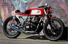 Racing Cafè: Honda CB 550 EL DORA by M Customs