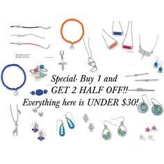 """Under $30!!!"" on Polyvore Contact me today. www.liasophia.com/jessieleon"