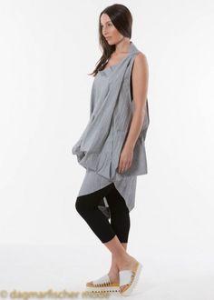 Onesize Tunika mit sommerlichen Streifen von CREARE #layering #lagenlook #creare #sale