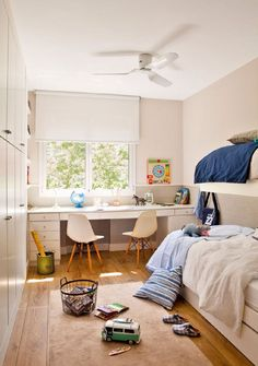 Comfy small bedroom design and organization ideas 28 Childrens Bedroom Decor, Old Apartments, Small Bedroom Designs, Kids Room Design, Girls Bedroom, Room Inspiration, Interior Design, Furniture, Interiors Online