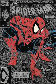 Torment: Part 1 __art and cover by Todd McFarlane , Right out of the gate the wall-crawler will be challenged like never before as mysterious and ominous drums in the distance are driving the savage L More