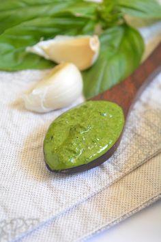 Vegan Kale Basil Pesto