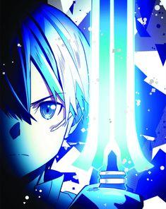 Kirito (Kazuto) [Ordinal Scale] - By Sword Art Online ღ Sword Art Online Kirito, Sword Art Online Movie, Kirito Sword, Kirito Kirigaya, Kirito Asuna, Online Anime, Online Art, Sao Underworld, Manga Anime