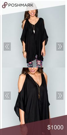 ISO Show Me Your Mumu PETA boo Tunic in Black I am looking to purchase this tunic in either medium or large. Please contact me if interested in selling! Thanks! 💕 Show Me Your MuMu Tops Tunics