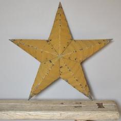 Barn Star XL, Moutarde www.lereperedesbelettes.com