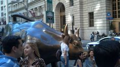 The bull at Wall Street. Wall Street, New York City, New York, Nyc