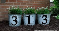 "Changing my house number display has been on my ""To Do"" list forever and I wanted something that would be easy to spot from the street.  ..."