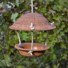 Ceramic Angels, Ceramic Birds, Ceramic Clay, Ceramics Projects, Clay Projects, Slab Pottery, Ceramic Pottery, Diy Bird Bath, Diy Bird Feeder