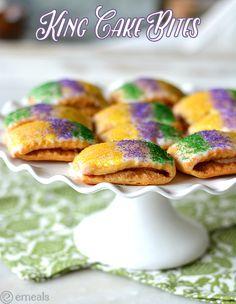 Mardi Gras King Cake Bites | eMeals