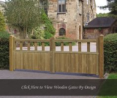 Grange Fortress Driveway Double Gates: x - traditional design wooden garden gates with strong timber frame and rear bracing. Wrought Iron Driveway Gates, Timber Gates, Driveway Entrance, Front Gates, Entrance Gates, Wooden Driveway Gates, Fence Gates, Garden Entrance, Dog Fence