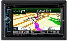 """Kenwood Excelon DNX6960 6.1"""" In-Dash Double-DIN Navigation DVD Receiver - http://luxurylifestylegifts.com/?p=11764"""