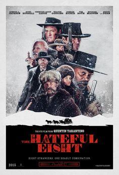 """Los odiosos ocho"" (Quentin Tarantino, con Samuel L. Jackson, Kurt Russell y Jennifer Jason Leigh Eight Movie, The Hateful Eight, Types Of Art Styles, Gangster Movies, Ranger, Pop Art, Nordic Art, Movie Covers, Alternative Movie Posters"