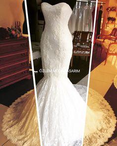 Gelinlik balık model wedding dress