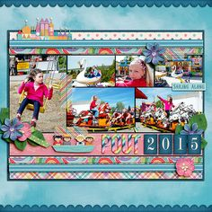 Digital layout using Amber Shaw, Studio Flergs: Believe In Magic - Fantasy World at Sweet Shoppe Designs