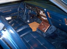 Lee Iacocca's personal 1983 Imperial he had fitted with the FS center locking console.