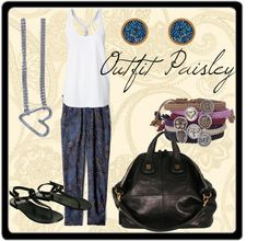 """Outfit Paisley"" by lablem on Polyvore"