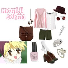 Casual cosplay of Momiji Sohma (from Fruits Basket anime series)-- character inspired outfit Anime Inspired Outfits, Character Inspired Outfits, Themed Outfits, Nerd Fashion, Fandom Fashion, Disney Fashion, Casual Cosplay, Cosplay Outfits, Cosplay Ideas