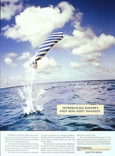 """Investment: """"JUMPING FISH"""" Print Ad  by Fca! Communicatie-adviesbureau"""