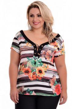 Blusa Plus Size Cerejeira