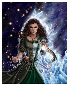 Egwene al'Vere, The Flame of Tar Valon by ReddEra.deviantart.com on @DeviantArt