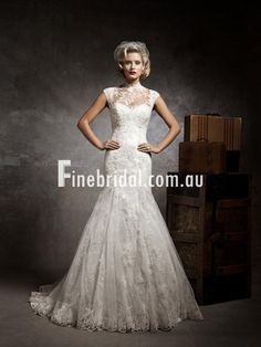 Today I am bringing another exciting post of lace mermaid vintage wedding dress! I have been madly looking for new sort of lace mermaid vintage wedding dress. 2015 Wedding Dresses, Wedding Dress Styles, Wedding Gowns, Lace Wedding, Dresses 2014, Bridesmaid Dresses, Dresses Online, Gatsby Wedding, Spring Wedding