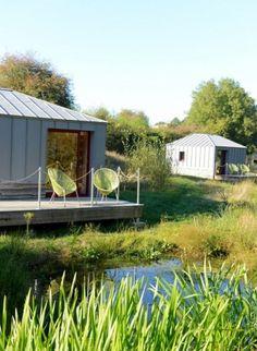 Terragora Lodges : un #hôtel insolite et #nature en Vendée