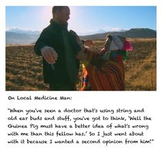 Karl Pilkington and the medicine man