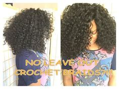Hair tutorial: how to install knotless curly crochet braids with no leave out [Video] - http://community.blackhairinformation.com/video-gallery/weaves-and-wigs-videos/hair-tutorial-install-knotless-curly-crochet-braids-no-leave-video/