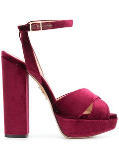 Charlotte Olympia Diana Sandals In Red Sneakers Fashion Outfits, Heels Outfits, Fashion Heels, Nice Outfits, Women's Fashion, Cute Addidas Shoes, Black Nike Shoes, Stilettos, High Heels