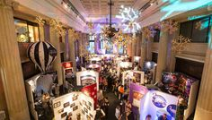 Featuring talks, seminars and creativity workshops by industry experts