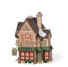 "Department 56: Products - ""The Flying Horse Tavern"" - View Lighted Buildings"
