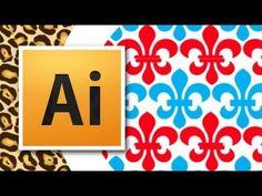 Adobe Illustrator Tutorial - Pattern Basics - YouTube
