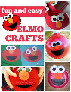 Fun & Easy Elmo Crafts - Love and Marriage