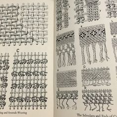 """""""weaving illustrations: almost as time consuming as actual weaving? #weaving"""""""