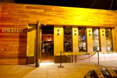 Shelter Encinitas | bar and restaurant with retractable ceiling!