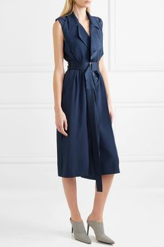 Jason Wu | Belted satin wrap dress | NET-A-PORTER.COM