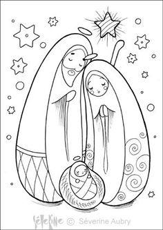 Nativity | Stuff I want to make | Pinterest | Nativity, Coloring and Christmas Nativity